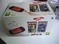 PSP Street Black + Cars 2 Essentials + Toy Story 3 Essentials mini1